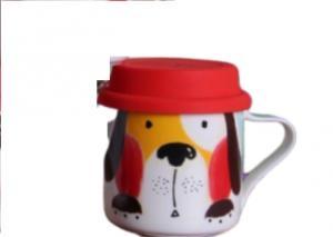 Five cute animal cups